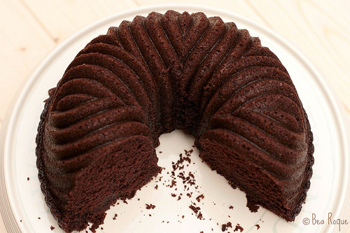 Darkest Chocolate Cake ever