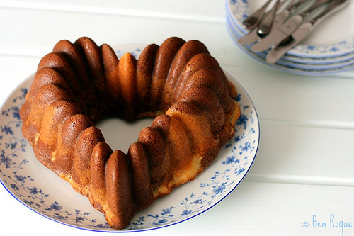 Orange & Choco bundt cake