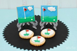 GALLETAS DECORADAS (Golf Cookies)