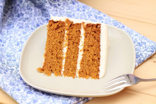 Spice Pumpkin Layer Cake