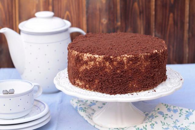Café au Lait Chocolate Cake