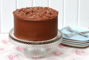 CHOCOLATE & MAYONNAISE CAKE