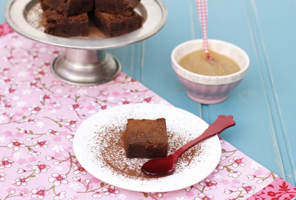 Un brownie con una textura increíble y un ingrediente sorprendente