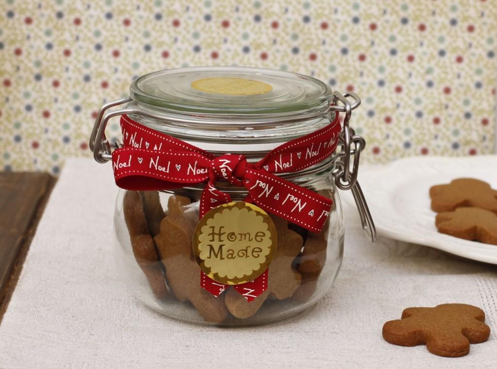 Las galletas de jengibre de bocadito son un regalo perfecto