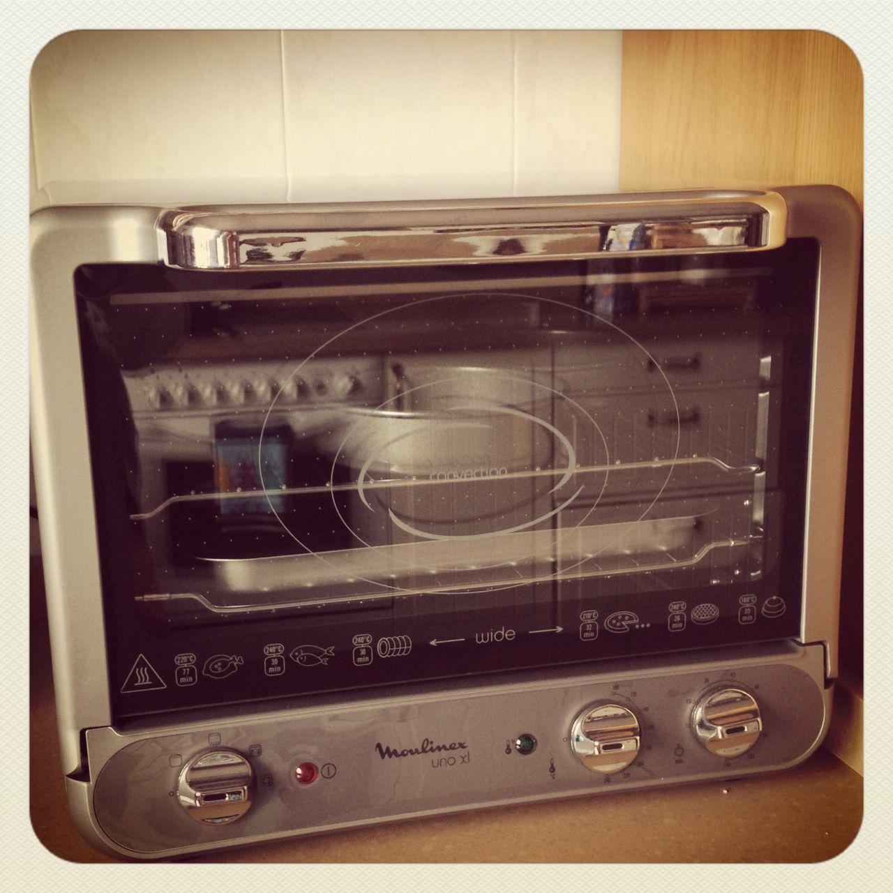 Mi nuevo horno Moulinex UNO XL .