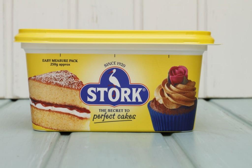 Stork, la margarina que se usa para esta tarta