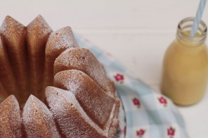 WHITE CHOCOLATE & COCONUT BUNDT CAKE (y sorteo)