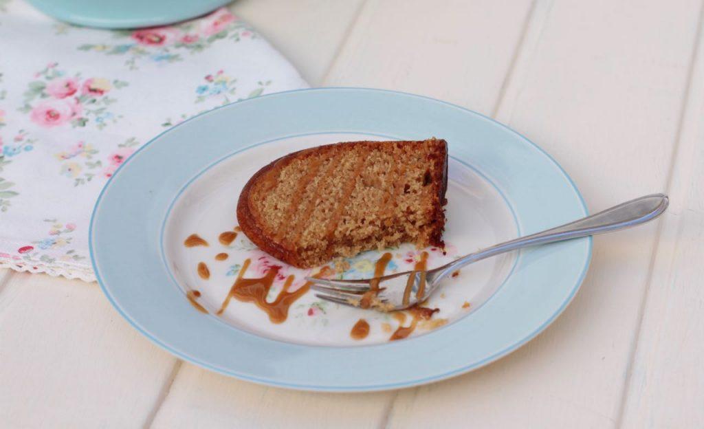 Chai Latte Bundt Cake corte