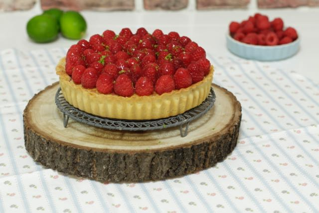 Raspberry & Frangipane Tart