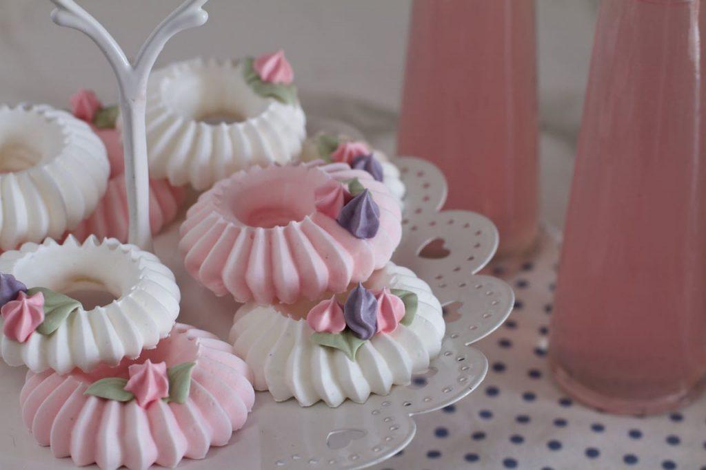 Coronas de merengue