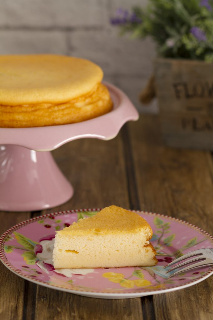 Tarta de yogur griego v