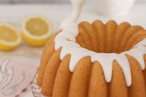 Bundt de Triple Limón