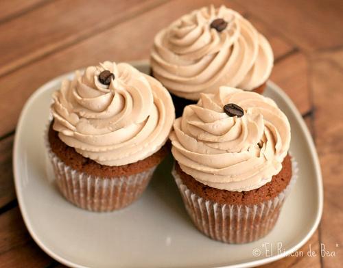 Cupcakes de café