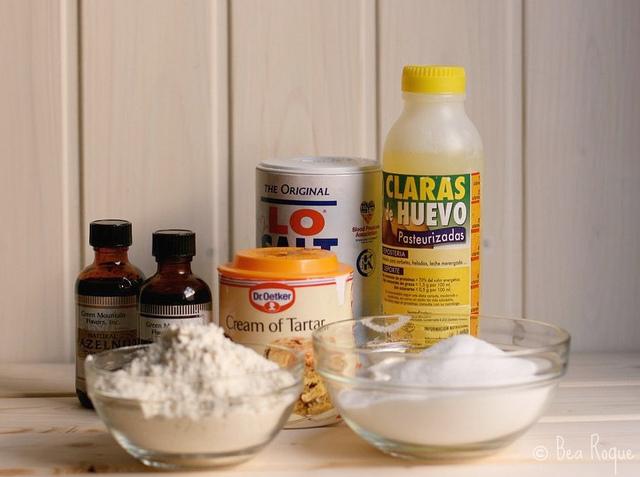 Ingredientes ANgel Food Cake