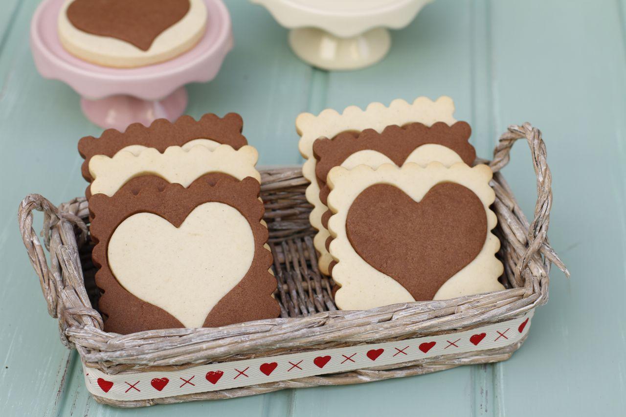 Unas galletas con lo mejor de la vainilla y el chocolate